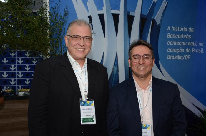 Carlos Pereira e Junior Lins, da Bancorbrás