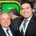 Carlos Prado, da Abracorp, e Deputado Newton Cardoso