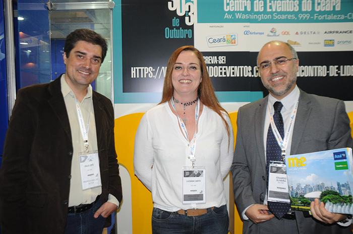 Celio Leite, Lu Canto e Eduardo Oliveira, da Salt DMC