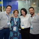 Cesar Turlão, da Mondiale, Karina Rucco, da Real Time Solutions, Beatriz Yumi, da RTS, e Eduardo Aparecido, da Mondiale Turismo