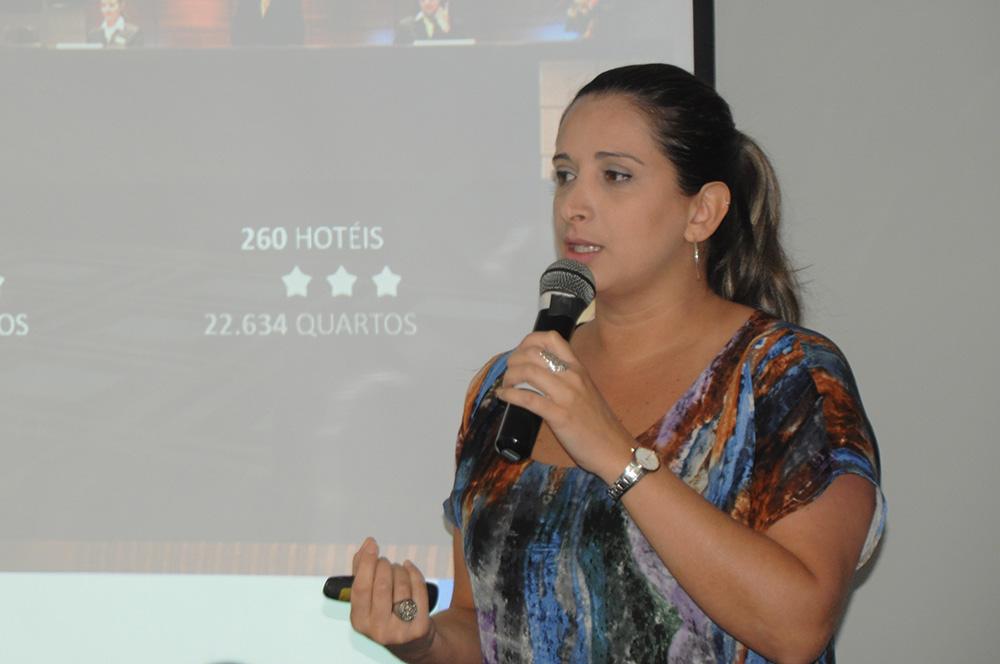 Cibele Moulin, gerente de Operações Internacionais do Turismo de Dubai para Espanha, Portugal e América Latina