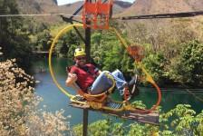 Aerobike: conheça a nova atração do Hot Park