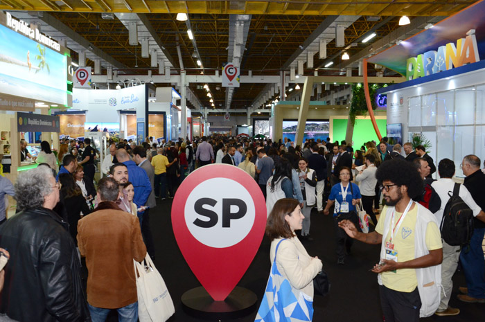 Corredores da Abav Expo 2019, no Expo Center Norte