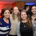 Débora Pupo, da E-Férias, Simone Zanella, da SZ Viagens, Joice Lopes, da Magic Blue Turismo, e Marcela Carvalho, da New Way Travel