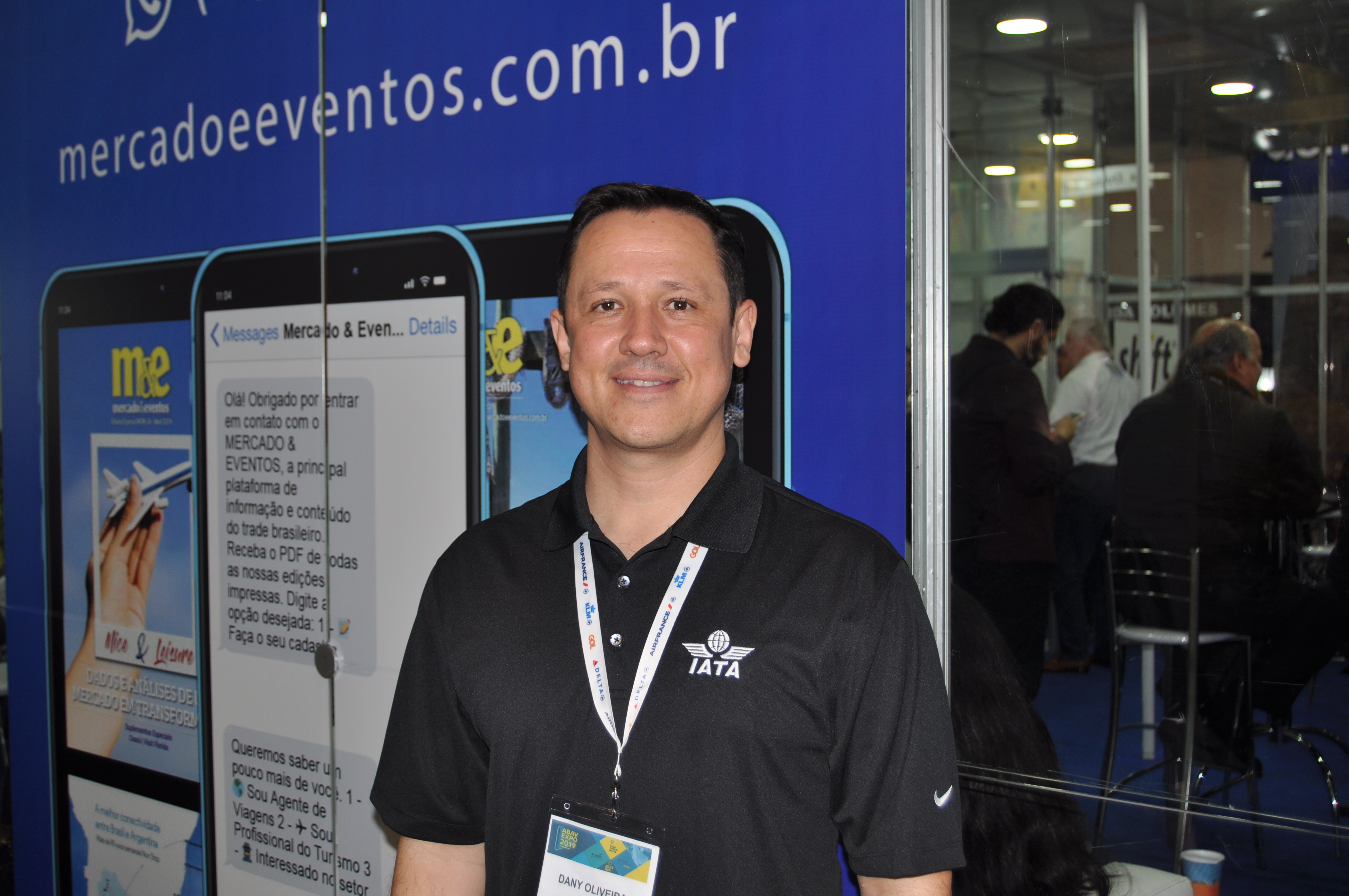 Dany Oliveira, country director da IATA Brasil