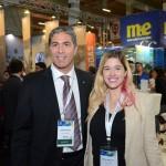 Dario Rustico e Cintia Carlotti, da Costa Cruzeiros
