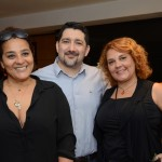 Debora Ferruço, da Flip Flop, Omid Biranj, da Lugano Tours, e Berenice Miranda, da CIA Vip