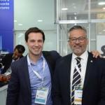 Eduardo Zorzanello, do Festuris, e Bob Santos, do MTur