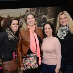 Elaine Domenichelli, da Domenich Viagens, Maria Elvira, da Mel Viagens, Carla Demerchi, da Provence Turismo, e Flóris Chieregatti, da Vero Viagens e Turismo