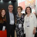 Elaine Rodrigues, Ricardo Pompeu, Tatiana Vanzelzor, e Neila Araújo, da Ameris By Nobile