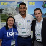 Eliane Rizzo e Flavio Louro, da E-HTL, com Juliano Braga, do M&E