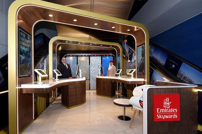 Emirates Skywards Centre no Terminal 3 do Aeroporto Internacional de Dubai