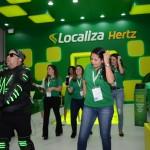 Equipe da Localiza iniciou os trabalhos em ritmo de dança