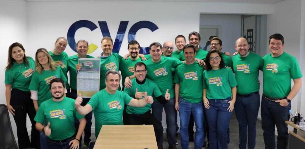 Equipe de Vendas da CVC
