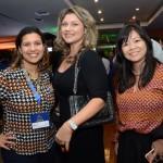 Erica Bortolotte, Danielle Andreazzi e Fernanda Kodama, da Primetour