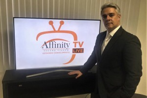 Erick Lorga comanda a Affinity TV