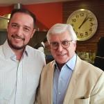 Ernesto Airosa, da American Airlines e Juarez Cintra, presidente do Conselho Administrativo do Grupo Ancoradouro