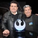 Favio Tozzi, da AT Viagens, e José Luiz Real, da Dominiak Turismo
