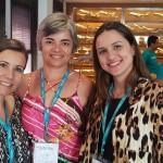 Fernanda Cassiaro, da Villa Turismo, Marilda Pinheiro, da Amarilys e Letícia Veltrone, da Esplanada Viagens