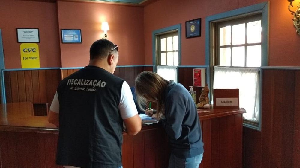 Fiscalização do Ministério do Turismo passou por Gramado e Canela, na serra gaúcha