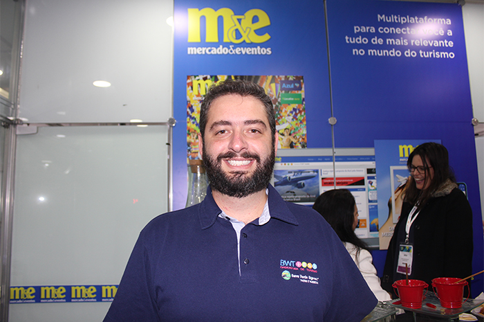 Gabriel Cordeiro, gerente geral da BWT