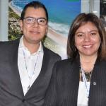 Gabriel López e Diana Pomar, da DGX International Travel