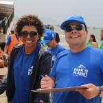 Gladys Martins, da Latam Travel com Andre Almeida, do Visit Orlando