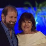 Guilherme Paulus, fundador do GJP Hotels e Resorts, acompanhado de sua esposa, Luiza Paulus