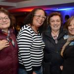 Hilda Sumi, da HS Turismo, Odete MAria, da Livre Turismo, Roseli Affonso, da Freelancer, Roseli Castro, da RC Turismo