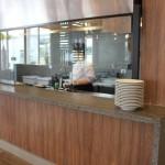 O café da manha é servido no Gardênia