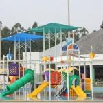 Área infantil da piscina externa do Jardins de Jurema