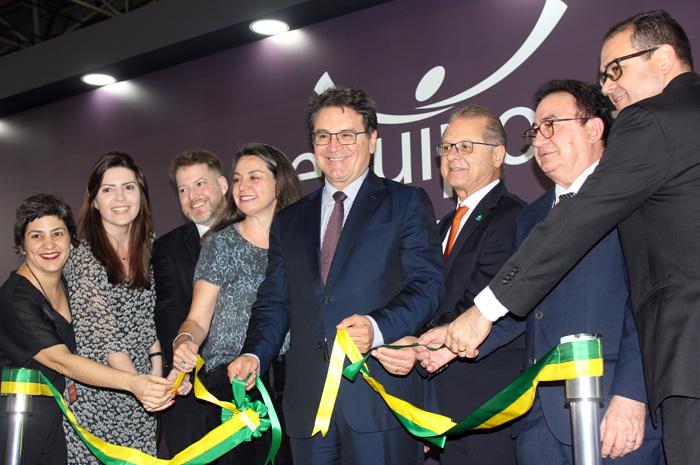 Importantes entidades do setor estiveram presentes na Cerimônia de abertura da 57º edição da Equipotel