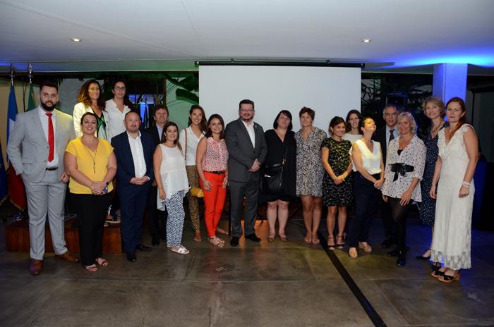 Com a participação de 15 expositores da rede hoteleira, estações de esqui e escritórios de turismo, a Atout France promoveu um encontro a fim de promover os Alpes Franceses