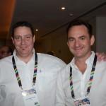 Jason Wertmuller da Airlink e Craig Rutherfoord da Ghost Mountain Inn