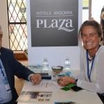João Costa, do Hotels Andorra Plaza, e Mari Masgrau, do M&E