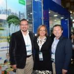 Juan Ballesteros, Lourdes Vera e Adriano Aguiar, da Hertz