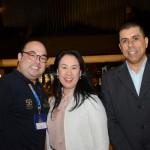 Kadu, da SAA, Renata Yano e Fernando Rocha, da Teresa Perez Tours