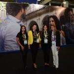 Keli Lima, Deborah Fraga e Luelei Munhoz, da Franga Viagens, e Mara Garcia, da Bless Turismo