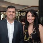 Kleber da Silva, da Abreu, e Aline Martins, da Alitur