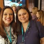 Larissa Correa, da Sunset Viagens de Taubaté e Ana Ceruks, da I Love Travel de São José dos Campos