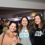 Luciana Ribeiro, da Orlando Profissional, Priscila Vargas e Aline Camara, da Mundo Migs