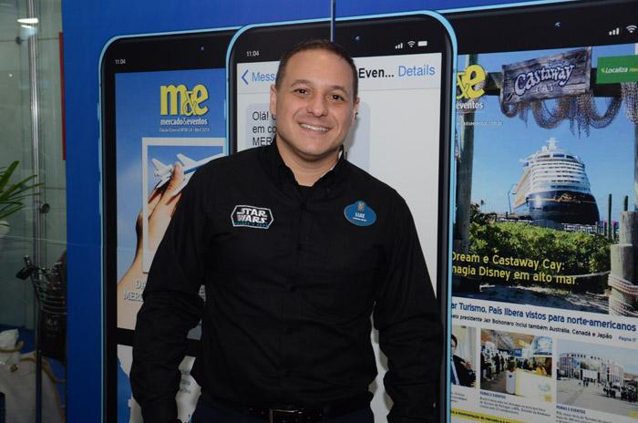 Luiz Araújo, da Disney