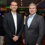 Márvio Mansur, da Flytour Gapnet Consolidadora, e Teddy Kahanevic, da TK Royal