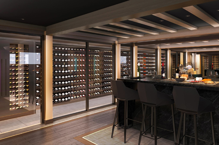 MSC Seashore Wine Cellar and Tasting