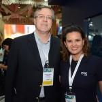 Manuel Simão, do Recife CVB, e Schirlley Azevedo, da CVC Corp