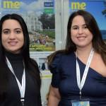 Manuela Fay, da Empetur, e Ana Luíza Accioly, da Setur-Pernambuco