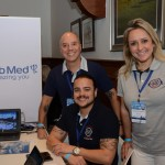 Marco Oliva, Rudi Carmello e Fernanda Dominicis, do Clubmed