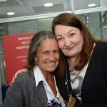 Mari MAsgrau, do M&E, e Magda Nassar, presidente da Braztoa