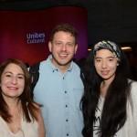 Maria Caro, da MC Assessoria em Turismo, Jacob Lassar, da Advantage Austria, e Yasmin De Liz