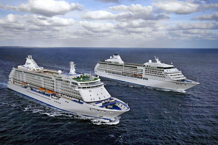 Mariner e Voyager são os cruzeiros que apresentarão a nova coleção da Regent Seven Seas Cruises